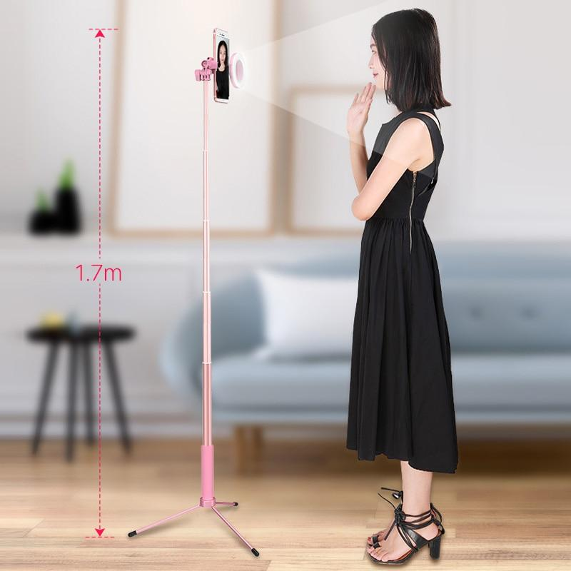 3 in 1 Bluetooth Selfie Stick Tripod with Phone Mount LED Video Light - My Lifestyle Stores