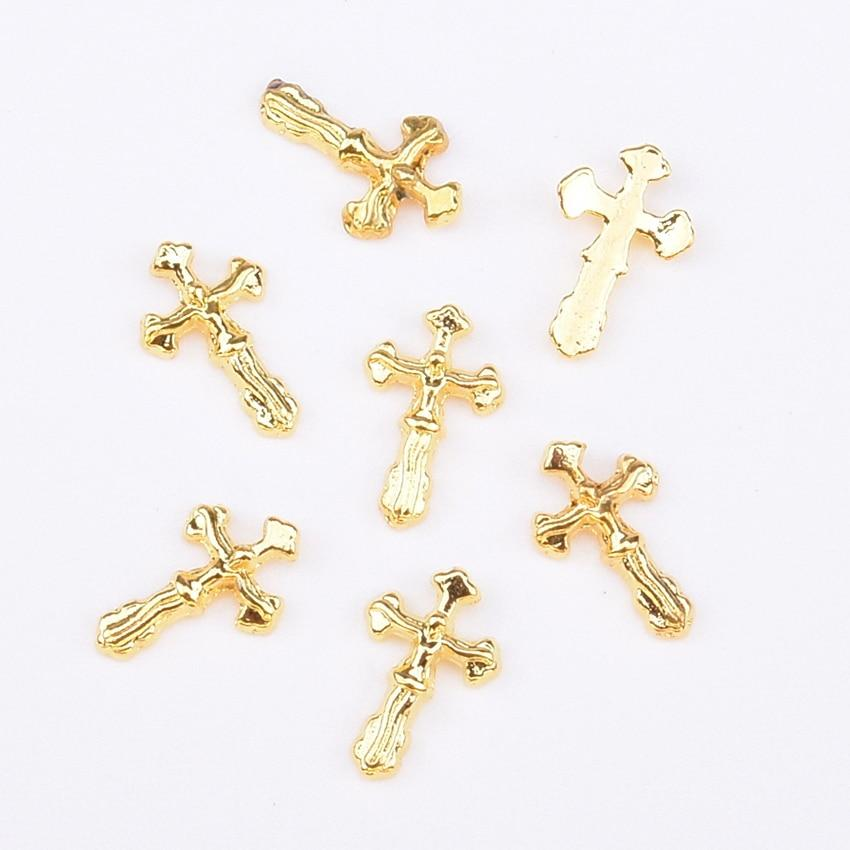Jesus Cross Nail Art Decorations | DIY 3D Nails Accessories - My Lifestyle Stores