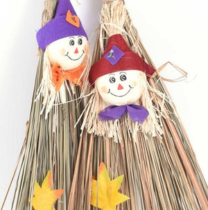 Witch Broom Hanging For Halloween Decoration - My Lifestyle Stores