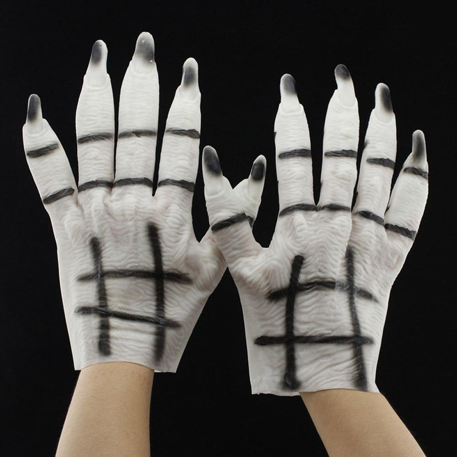 1Pair Creepy Monster Ghost Gloves - Halloween Gloves - My Lifestyle Stores