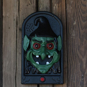 Spooky Talking Voice Light Up Eyes Doorbells - My Lifestyle Stores