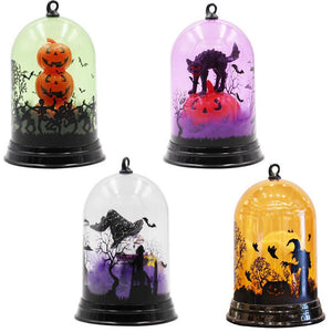 Witch Cat Flame LED Lantern for Hanging - My Lifestyle Stores
