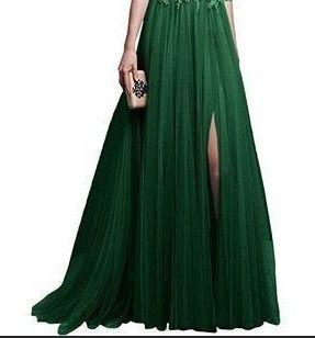 Round Neck Patchwork Plain Evening Dress - Chiffon Dress - My Lifestyle Stores