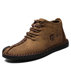 Split Leather Casual Shoes - My Lifestyle Stores