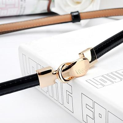 Double Buckle Thin Belt - My Lifestyle Stores