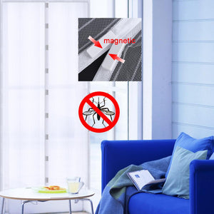 210 X 100cm Hands-free Magnetic Summer Anti-Mosquito Curtains - My Lifestyle Stores