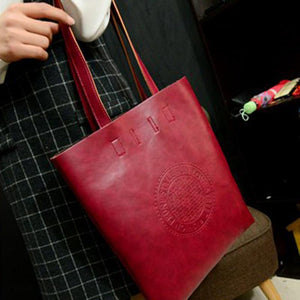 PU Leather Crossbody Tote Bag - My Lifestyle Stores