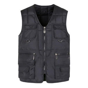 Zip Up Vest Jacket - My Lifestyle Stores