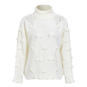Turtleneck knitted pullovers - My Lifestyle Stores