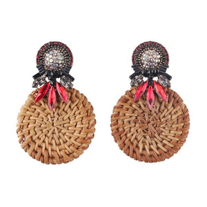 Boho Handmade Wooden Earrings - My Lifestyle Stores