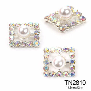 Pearl and Diamond Nail Art Rhinestone Nail Designs Decorations - My Lifestyle Stores