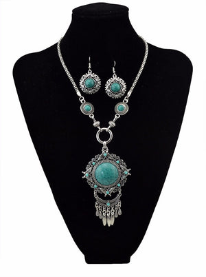 Bohemian Gypsy Butterfly Long Tassel Jewelry Set - My Lifestyle Stores