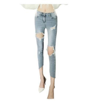 Vintage Boyfriend Distressed Jeans - My Lifestyle Stores