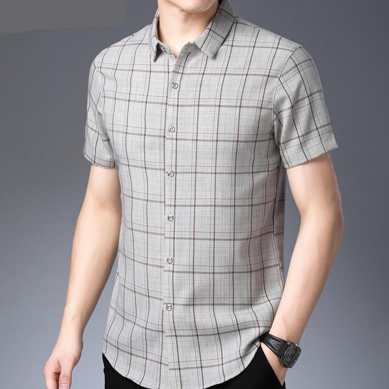 Classic Plaid Short Sleeves Shirt - My Lifestyle Stores