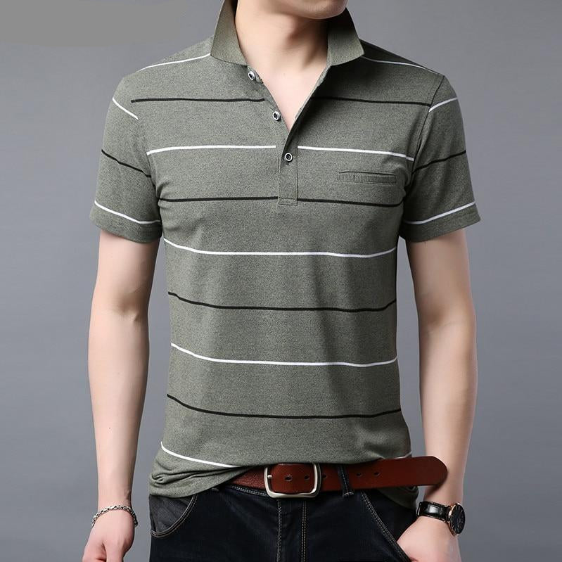 Striped Pocket T-Shirt - My Lifestyle Stores