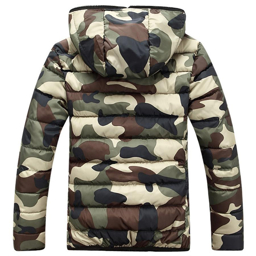 Camouflage Winter Down Jacket - My Lifestyle Stores