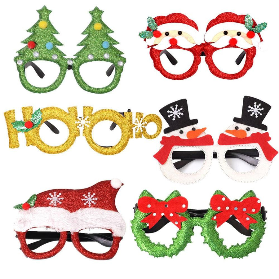 Christmas Glasses Prop for Christmas Party - My Lifestyle Stores