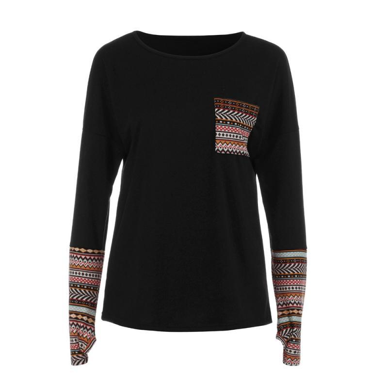 Cropped Patchwork Loose T-shirts - My Lifestyle Stores