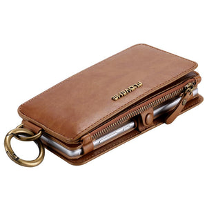 Retro Leather Wallet Case For Huawei - My Lifestyle Stores