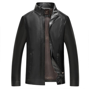 Imitation Leather Jacket - My Lifestyle Stores