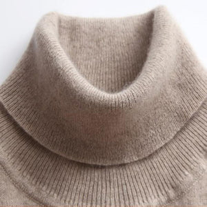 Turtleneck Soft Cashmere Elastic Sweater - My Lifestyle Stores