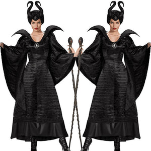 Maleficent Witch Queen Cosplay Dress - My Lifestyle Stores