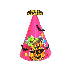 Trick or Treat Halloween hats - Halloween Paper Cartoon Cap - My Lifestyle Stores