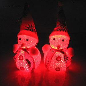 Glowing Snowman Warm White LED Light