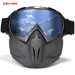 Snow Goggles with Anti-fog Glasses for Skiing
