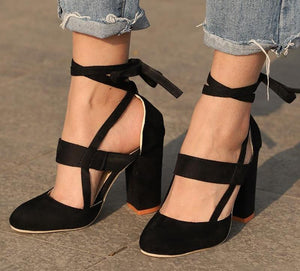 Female Ankle Strap High Heels - My Lifestyle Stores