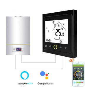 Thermostat Temperature Controller for Gas Boiler with Voice Control