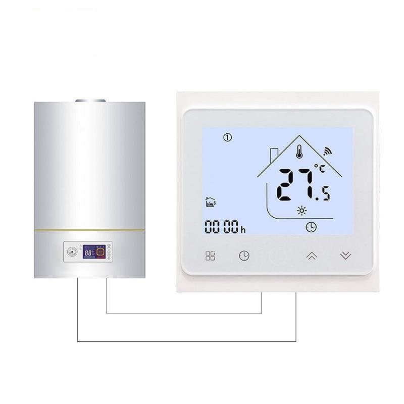 Thermostat Temperature Controller for Gas Boiler with Voice Control - My Lifestyle Stores