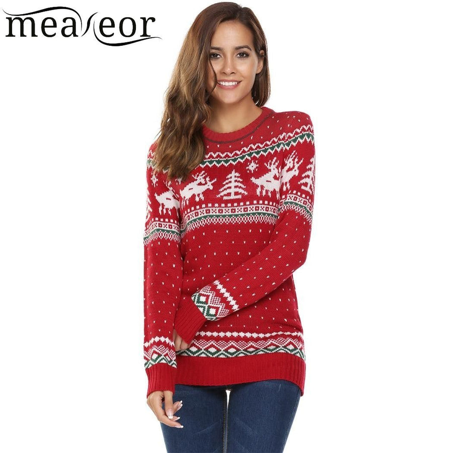 Christmas Print Sweaters - My Lifestyle Stores