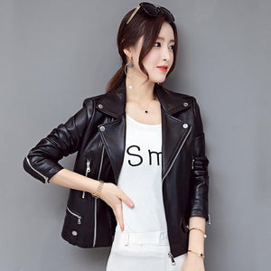 Pu Leather Motor biker Style Jackets - Faux Leather - My Lifestyle Stores