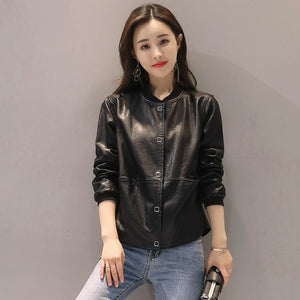 Women Faux Leather Jacket - My Lifestyle Stores