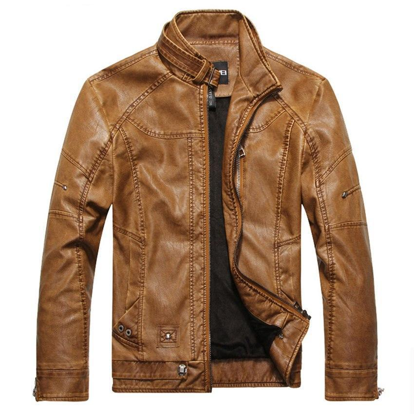 New Men's Faux Leather Jackets - My Lifestyle Stores