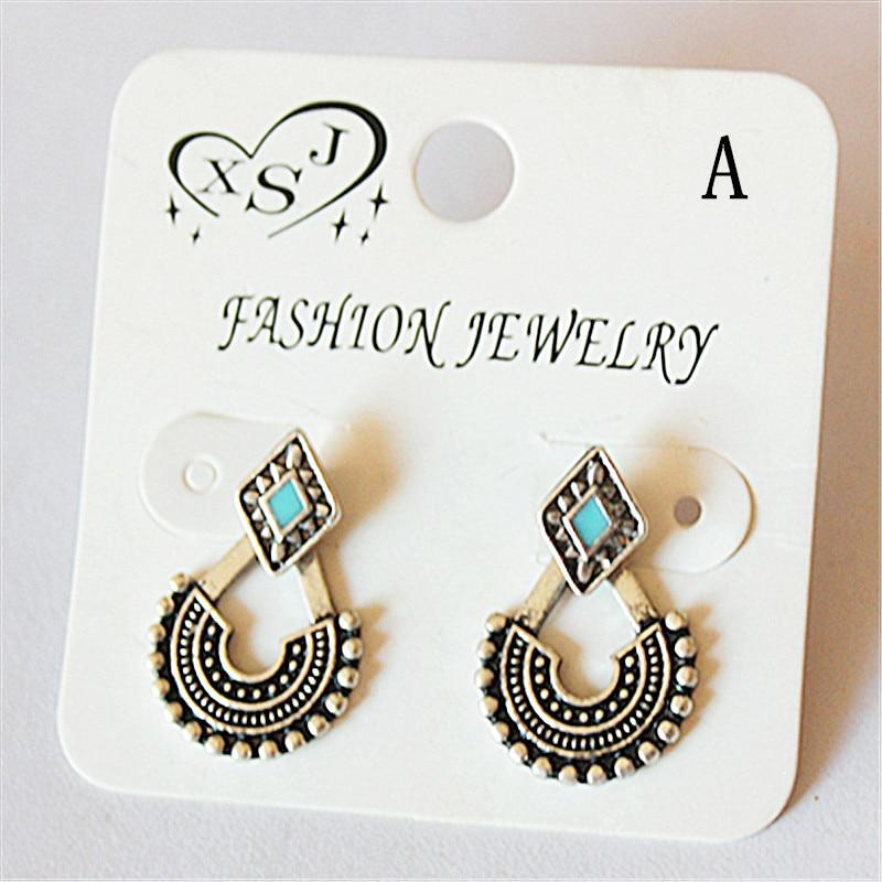 Retro Trendy Stud Earrings