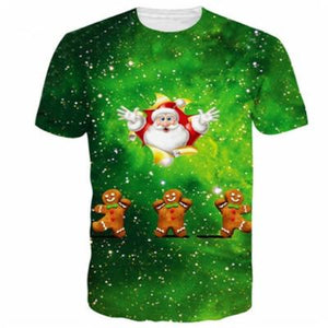 3D Printed Christmas T-shirts - My Lifestyle Stores