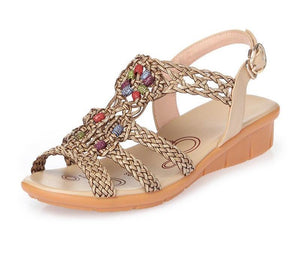 Casual Straw Rope Sandals - Fisherman Shoes - My Lifestyle Stores
