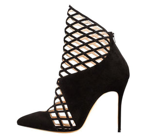 Thin High Heel Mesh hollow Pumps - My Lifestyle Stores
