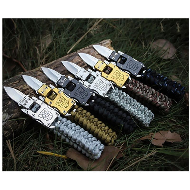 Multi Functional EDC Tactical 7 Core Parachute Survival Rope Bracelet - My Lifestyle Stores
