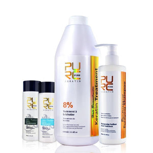 PURC Brazilian Keratin Hair Straightening Treatment 1000ml 8% formalin - My Lifestyle Stores