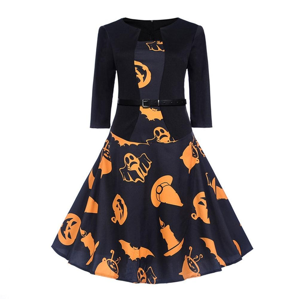 Halloween Evening Party Dress - My Lifestyle Stores