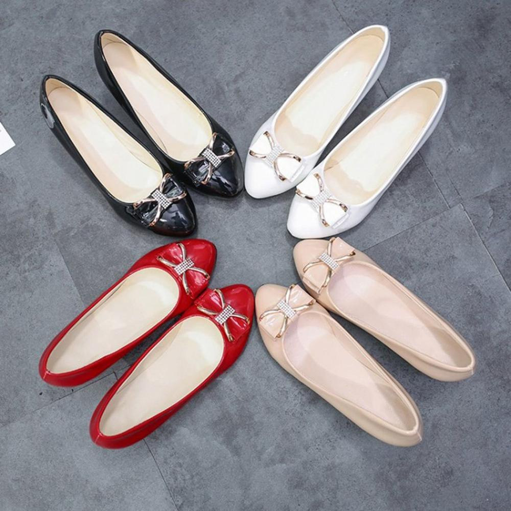 Casual Female Shoes With Bowknot - My Lifestyle Stores