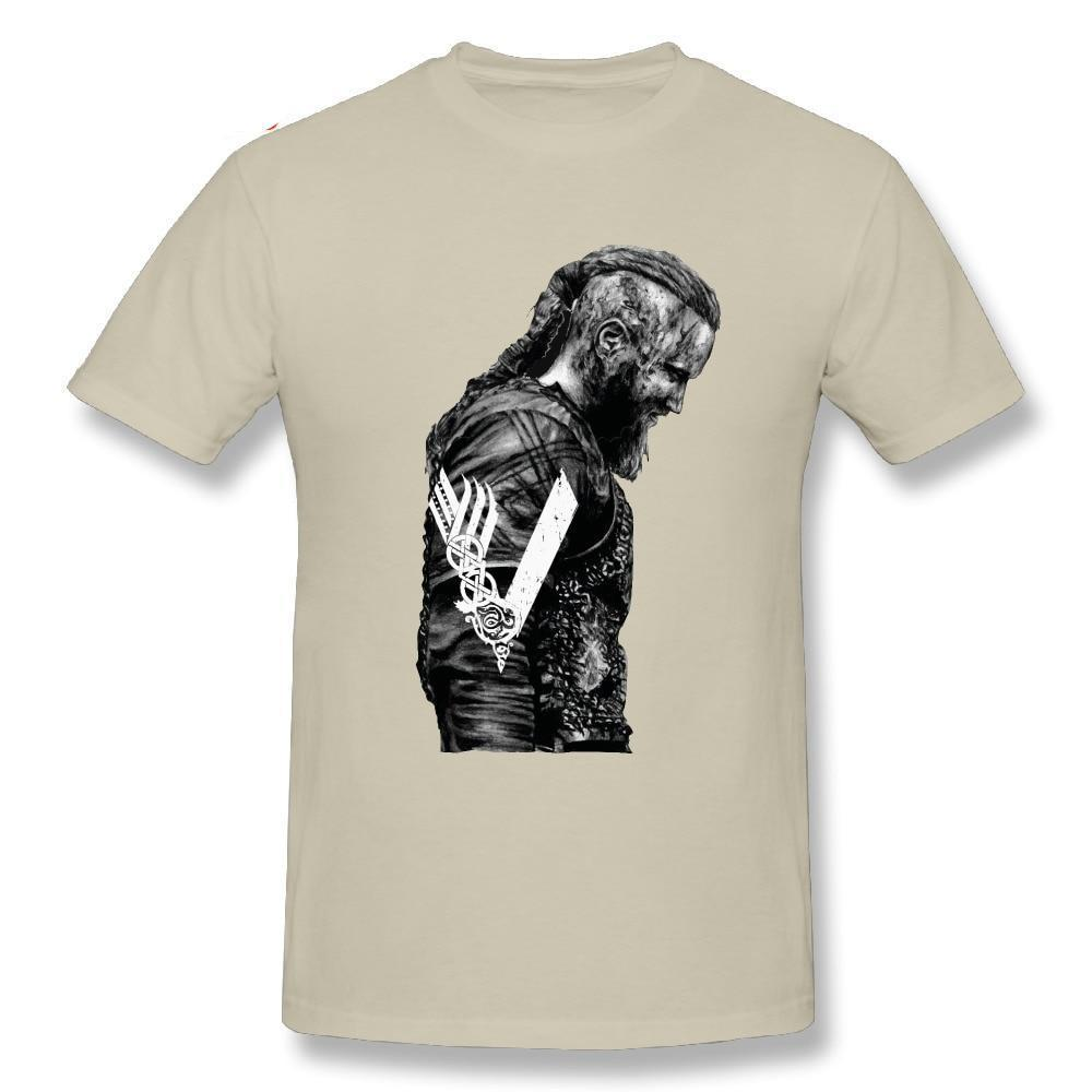 King Ragnar Lothbrok Vikings Man T-Shirt - My Lifestyle Stores