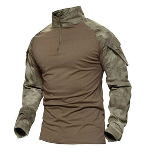 Camouflage Army Combat Tactical Shirt - My Lifestyle Stores