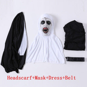 The Nun Cosplay Mask With Costume - My Lifestyle Stores