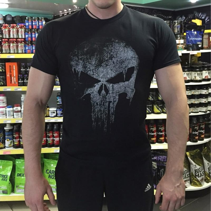 The Punisher Skull hip hop Supper Hero t shirts - My Lifestyle Stores