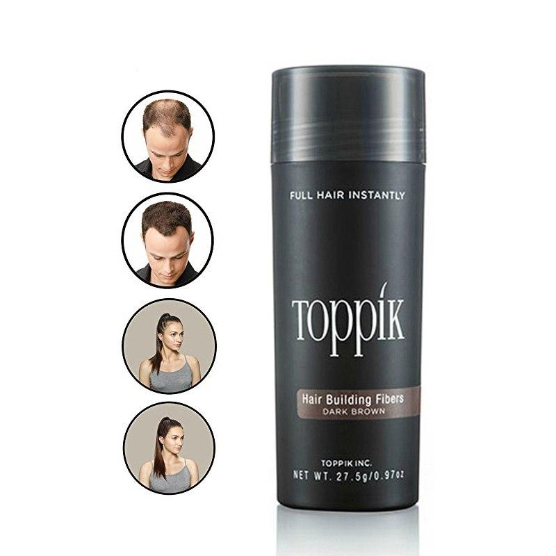 Toppik Hair Fiber 27.5g Add Refill Keratin Hair Building Fibers 100g (SEVICH) - My Lifestyle Stores