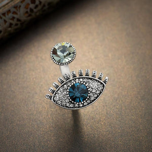 Retro Crystal Eyed Ring - My Lifestyle Stores